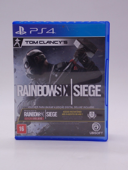 Rainbow Six Siege Play Station 4 Original Mídia Física
