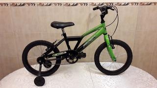 Bicicleta Rodado 16 Cuadro Especial Con Rueditas Flex