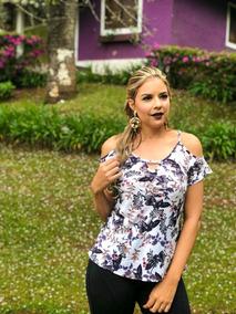 025fab3dd Blusa Viscose Vario Modelo - Blusas Feminino no Mercado Livre Brasil