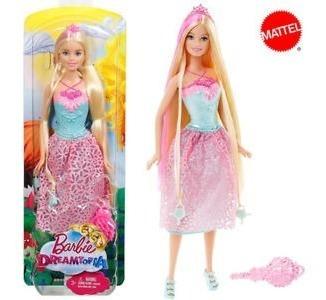 Barbie Dreamtopia - Cabelos Longos Loira - Mattel - Dkb60