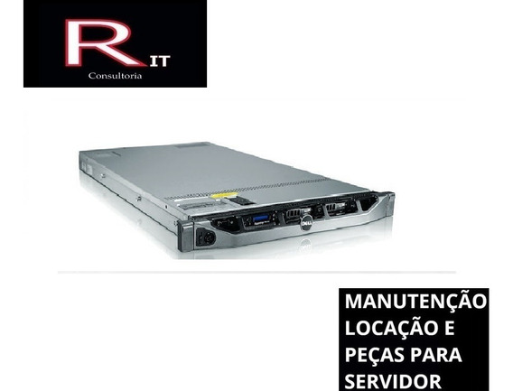 Servidor Dell Poweredge R410 32gb De Ram Com Trilhos