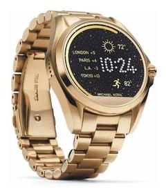 Relógio Michael Kors Access Smartwatch Mkt5001 Gold Lacrado