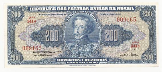 Cédula Brasil 200 Cruzeiros C038