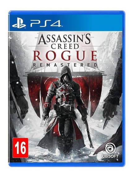 Assassins Creed Rogue Remasterizado - Ps4 - Novo - Física