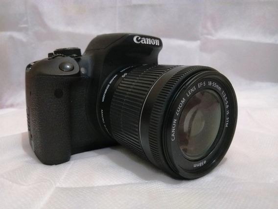 Câmera Dslr Canon T5i Seminova + 2 Lentes