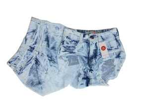 Kit 5 Shorts Jeans Feminino Atacado Cintura Alta Hot Pant