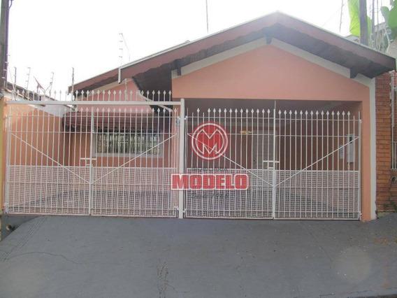 Casa Com 2 Dormitórios Para Alugar, 97 M² Por R$ 1.150/mês - Vila Monteiro - Piracicaba/sp - Ca1500