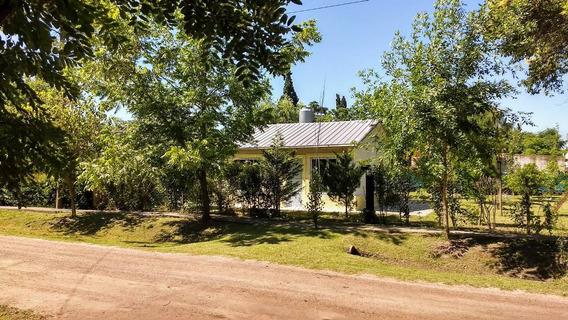 Excelente Casa En Laguna De Lobos(se Entrega Amoblada).