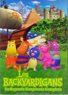 Los Backyardigans Segunda Temporada 2 Dos Dvd