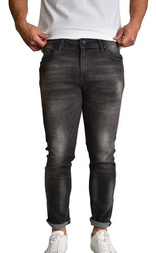 Imagen 1 de 8 de Pantalón Skinny Hombre Mezclilla Gris 147 Sherman Morgan