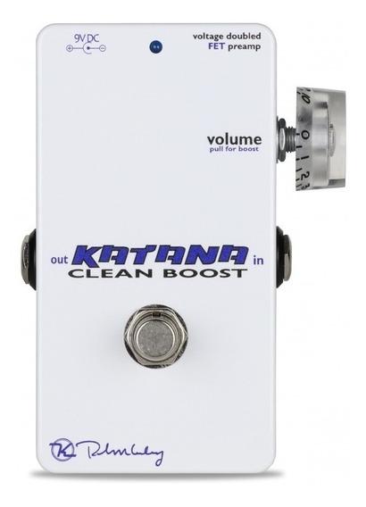 Pedal Keeley Katana Clean Boost C/ Nf-e & Garantia