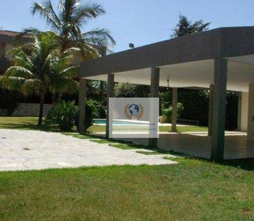 Casa Com 6 Dormitórios À Venda, 600 M² Por R$ 4.500.000,00 - Residencial Parque Rio Das Pedras - Campinas/sp - Ca0643