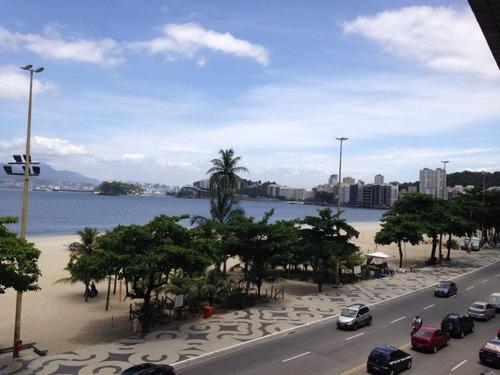 Apartamento Com 3 Dormitórios À Venda, 140 M² Por R$ 1.380.000,00 - Icaraí - Niterói/rj - Ap0731