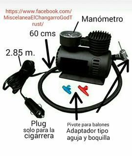 Compresor De Aire Mini Portatil Para Carro Para Pinchazos