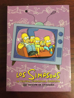 Dvd The Simpsons Season 3 Edición De Colección Original