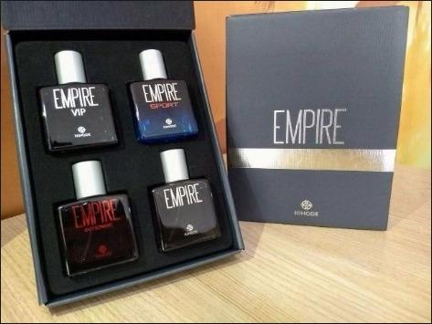 Kit 4 Perfumes Empire Collection Hinode 25ml