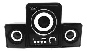 Caixa De Som Bluetooth Subwoofer Mp3 Radio Fm Usb Pc Not