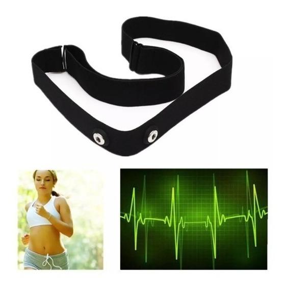 Fita Elástico Cinta Tira Monitor Cardíaco Garmin Polar Wahoo