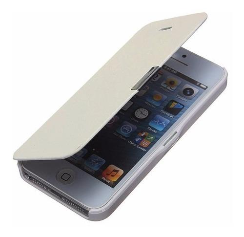 Estuche Case Magnético Flip Cover iPhone 4 5 5s 5c 5se