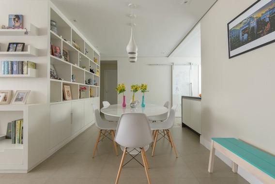 Mesa Saarinen Espirito Oval 1,60 X 0,90 C\ 4 Cadeiras Eiffel