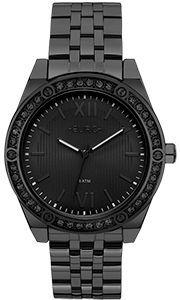 Relógio Euro Feminino Preto Strass Eu2035ynq/4p