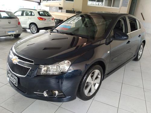 Chevrolet Cruze Sport Lt 2013 Azul Automatico Bancos Em Cour
