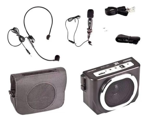 Kit Professor Portátil Tsi Super Voz 1210 Com 2 Microfones