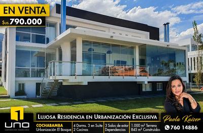 Hermosa Casa En Urbanizacion El Bosque