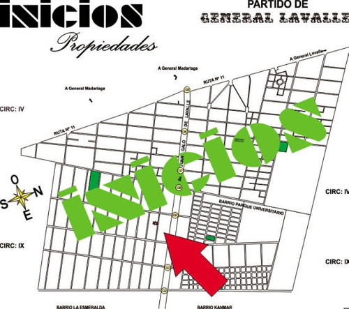 B287 Dos Chacras En Block En Barrio La Esmeralda. Pavon