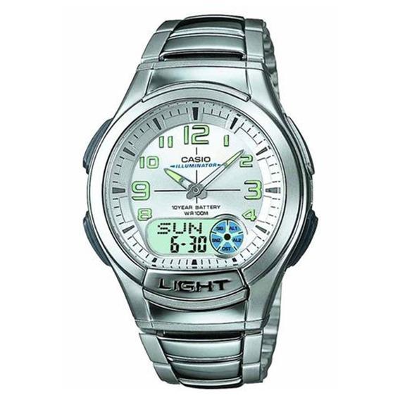 Relógio Masculino Anadigi Standard Casio Aq-180wd-7bv