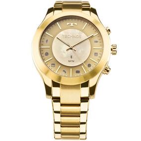 Relógio Technos Smartwatch Connect Dourado 753ae/4x