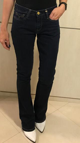 Calça Jeans Carmim! Flare! Frete Grátis! Jeans Escuro!! Tamanho 36!!!
