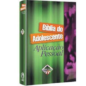 Bíblia Do Adolescente Aplicação Pessoal Verde