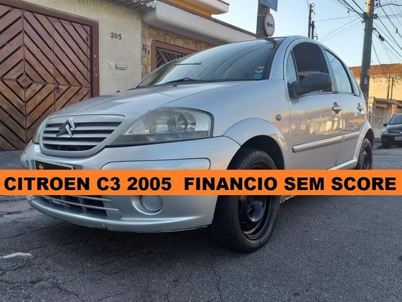 Citroen 2005 1.6 Finanio Mesmo Sem Score