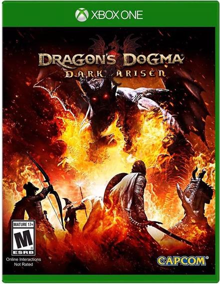Dragons Dogma Dark Arisen Xbox One Mídia Física Novo Lacrado