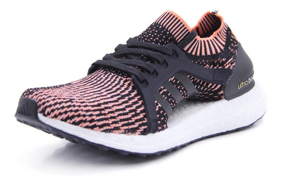 Tenis adidas Mujer Negro Coral Ultra Boost X Ba8278
