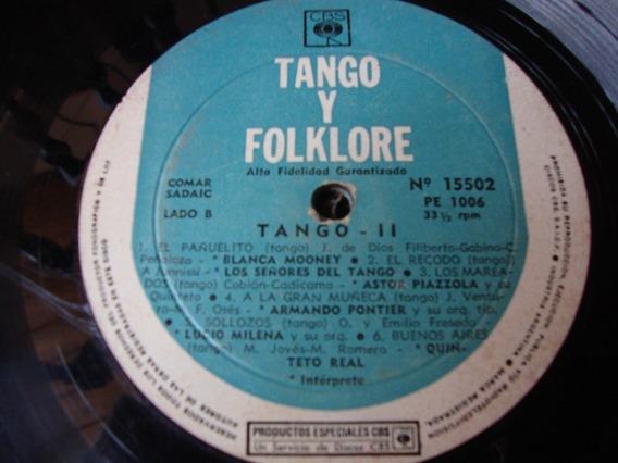 Sin Tapa Disco Tango Y Folklore Blanca Mooney Astor Piazzola