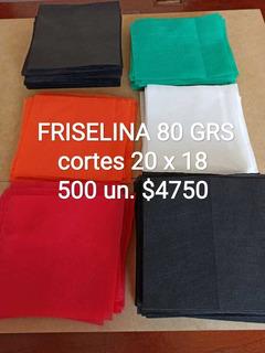 Cortes Friselina 80grs X 500u