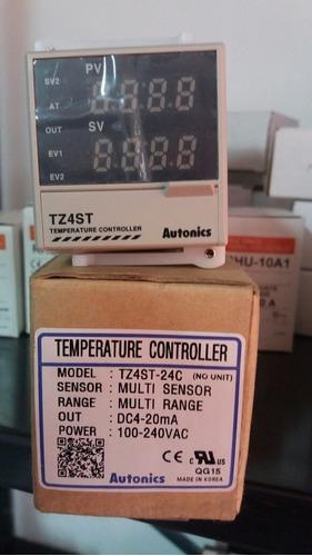 Controlador De Temperatura Tz4st-24c Autonics