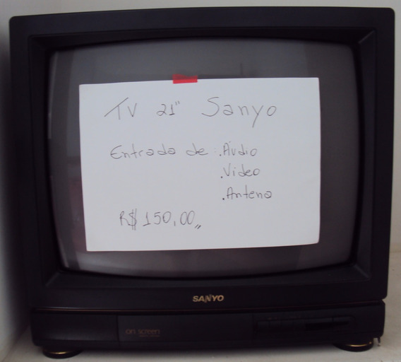 Tv Tubo 21p Sanyo Mod On Screen Remote Control Televisor