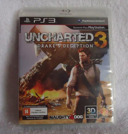 Uncharted 3 Português Ps3 **** Frete Gratis Leia