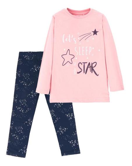 Pijama Esther Azul Marino 4kids