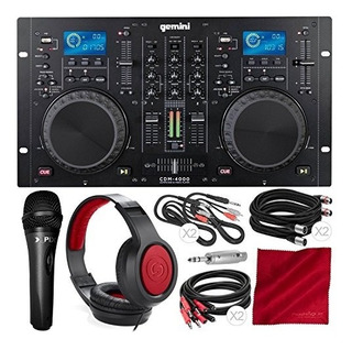 Gemini Cdm Series Cdm4000 Cdmp3usb De Audio Profesional Dj R