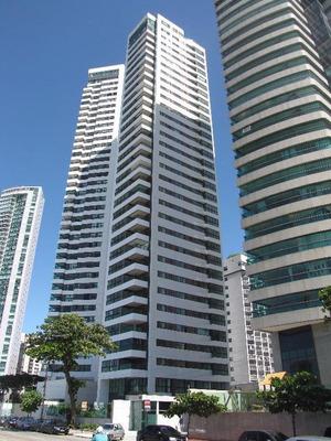 Apartamento Com 4 Quartos À Venda, 217 M² Por R$ 2.500.000 - Av. Boa Viagem - Recife/pe - Ap1064