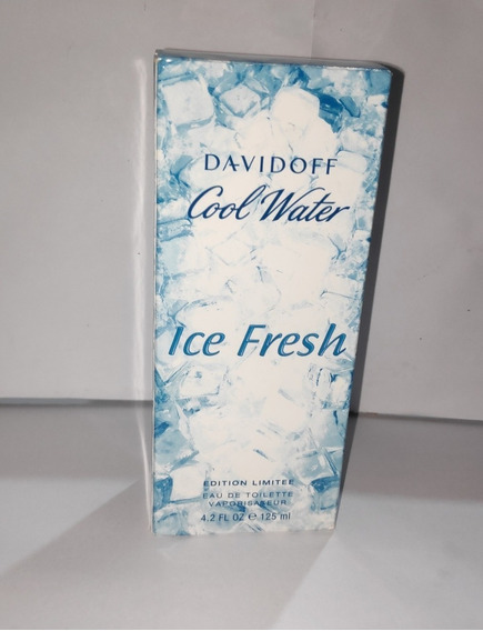 Perfume Davidoff Cool Water Ice Fresh Masc.125ml