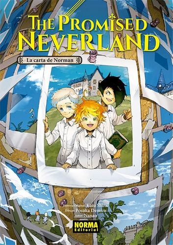 Imagen 1 de 1 de Novela The Promised Neverland La Carta De Norman - Norma