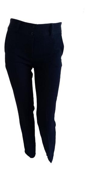 3 Pantalones De Vestir Rectos De Dama