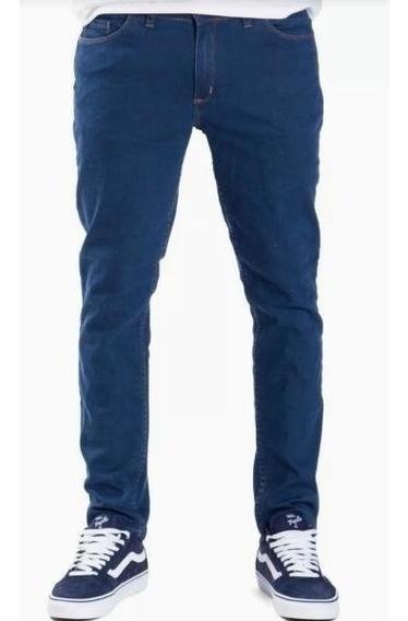 Pantalon Jean Rusty Bassel Azul Hombre