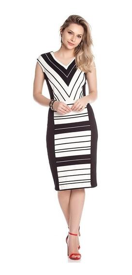 Vestido Tubinho Preto Moda Executiva Moda Evangelica Midi