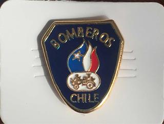 Pin Bomberos De Chile